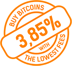 Buy bitcoins - lowest fees